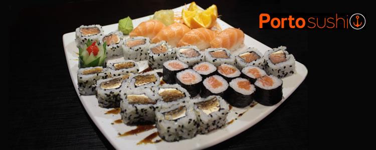 Combo de 28 peças no Porto Sushi Bar