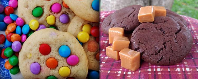 15 unidades de Cookies Tradicionais ou Recheados