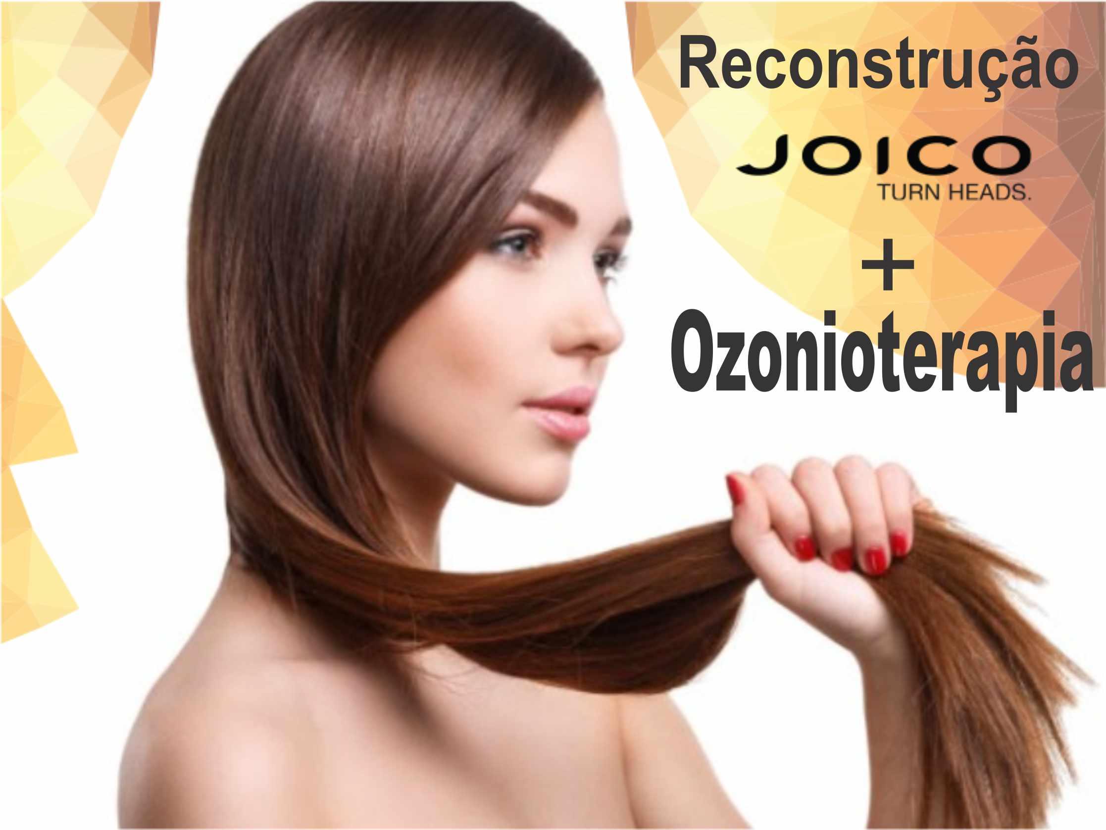 Reconstrução Capilar Joico + Vapor De Ozônio + Escova E Finalização!!!