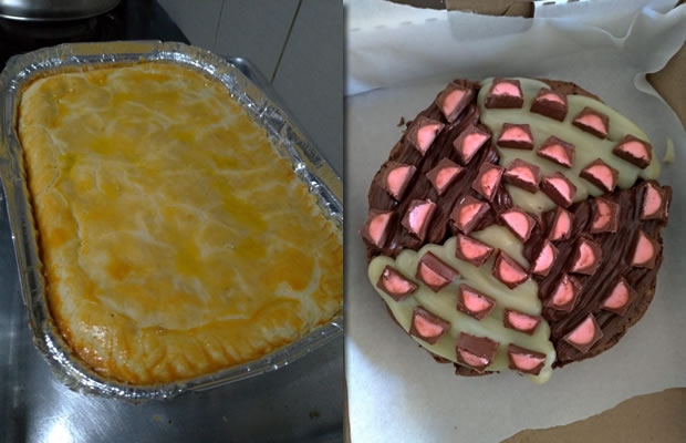 Empadão + Brownie