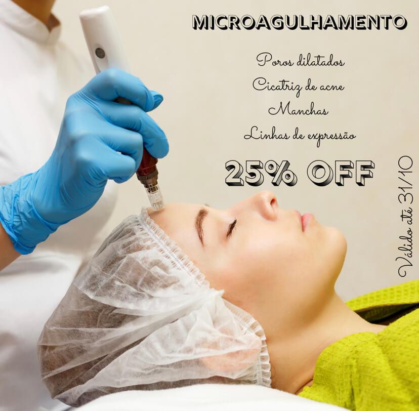 Microagulhamento - Envelhecimento - Cicatriz - Rugas - Calvície - Manchas - Estímulo De Colágeno