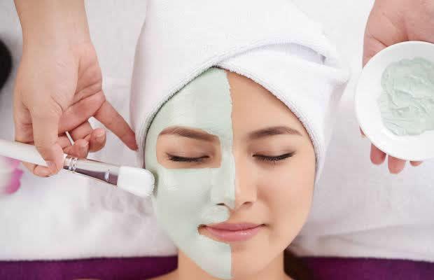Higienização Fácial + Máscara De Argila.